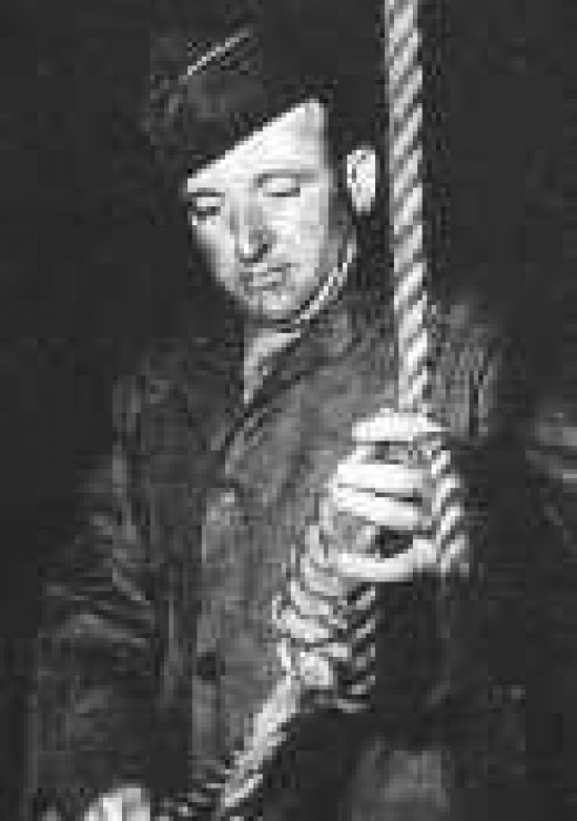 John C. Woods in Nürenberg 1946
