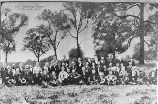Reunion of the William Clarke Quantrill Band c. 1875