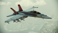 "F-18F Super Hornet ""Red Devils"" DLC skin"