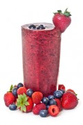 This Berry Medley Smoothie is great brain food and delicious too!
