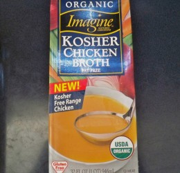 Organic Chicken Broth for Dried Beans