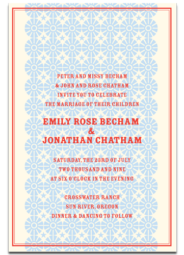 A Cowboy Themed Invitation From Hello Lucky