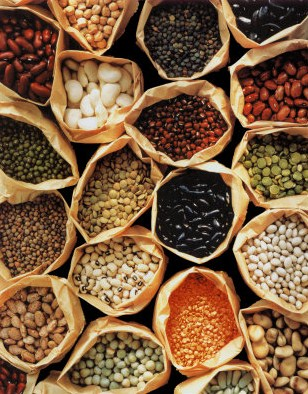 Common Indian legumes.