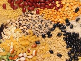 Indian grains.