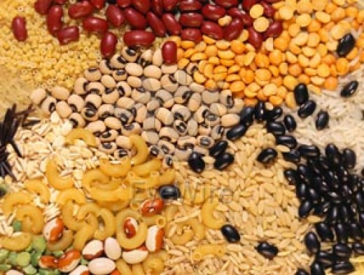 Indian grains.