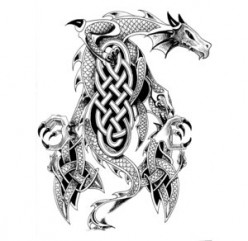 Celtic Dragon Tattoos | Tattoo Images
