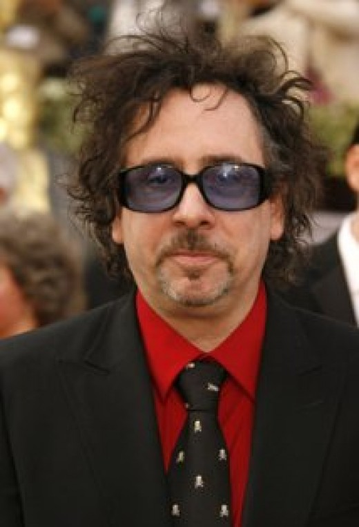 Tim Burton, learn more about him follow the link to his page on IMDB