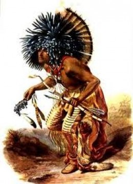 The Medicine Man or Witch Doctor had prestige for he provided a much needed service: to heal the body, heart and mind.