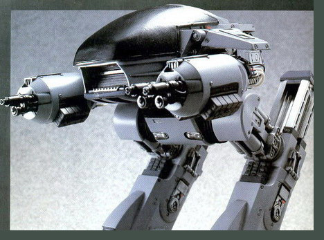 ED-209 returns... loyal as a puppy this time.