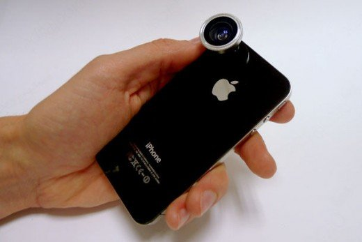 Lenses for iPhone and iPad 2 Cameras