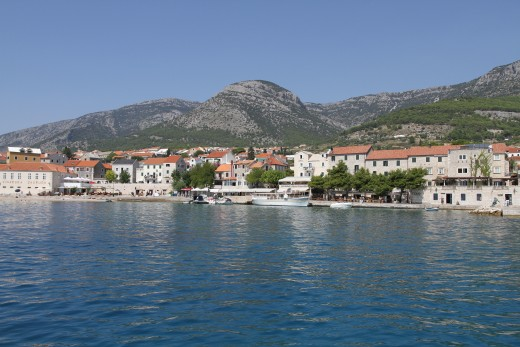 Town of Bol on Brac Island