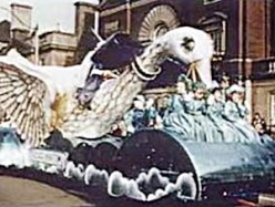 Mother Goose float from the 1953 Toronto Santa Claus Parade