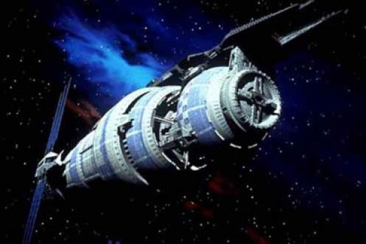 The fifth and final space station. Babylon 5.