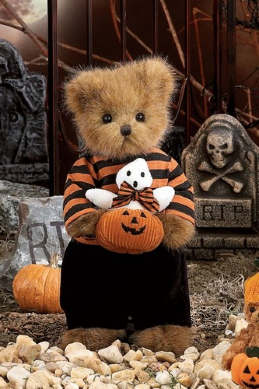 Adorable Boy Bear for Halloween