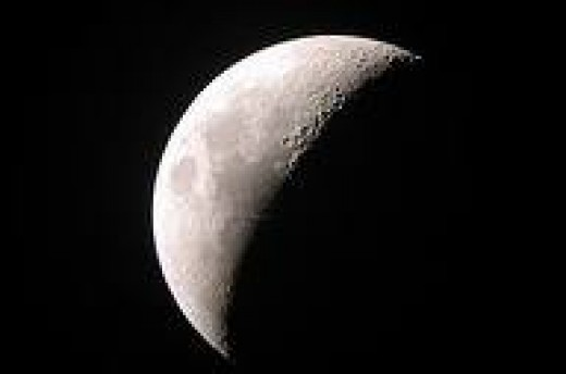 Moon taken by a Skywatcher Dobsonian Telescope