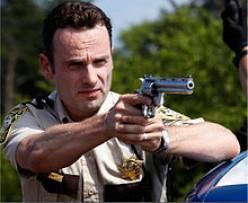 Rick Grimes - The Living Dead's nemesis?