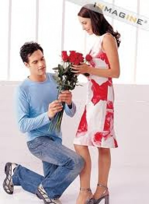Dude! This is nice, smooth, and very effective. Using the red roses to seal the deal.