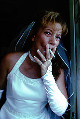 Chain Smoking Bride