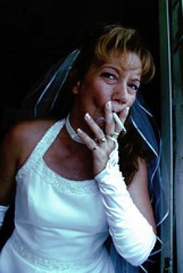 Chain Smoking Bride