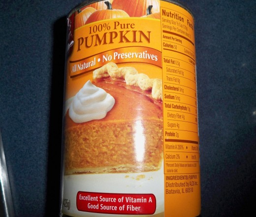 All natural pumpkin is a secret ingredient!  :)
