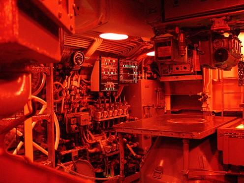 US Submarine Command Center