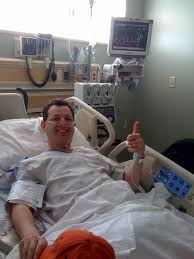 THUMBS UP, IS RIGHT, MAN! YOU HAVE GOT IT MADE IN TODAY'S HOSPITAL ROOM IF YOU ARE SICK, THEN YOU HAVE A REASON TO SMILE. IT'S PARTY TIME.