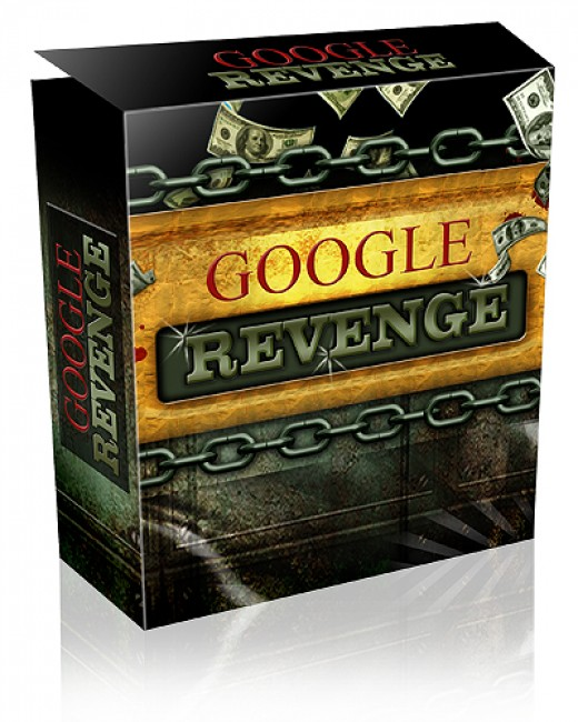 Google Revenge Product Box