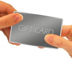 Using Gift Cards for Holiday Gifts