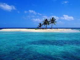 Sandy Coco Beach Island