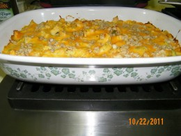 Broccoli-Carrot Chicken Divan