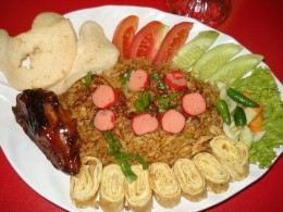 Mm...what a yummy 'nasi goreng' this is... :p