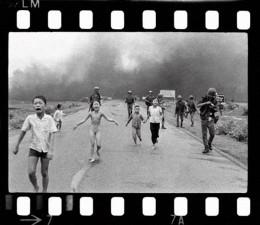 photograph taken by AP photographer Nick Ut on June 8, 1972 - Trang Bang, Vietnam