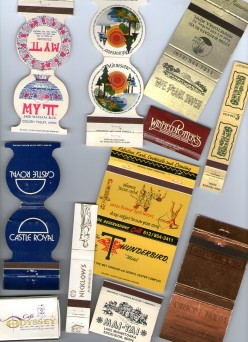 Matchbook Collecting: From The Beatles to The Loch Ness Monster