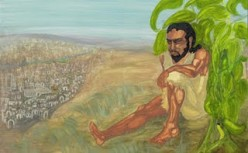 Jonah was discontent because God saved Ninevah.