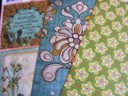 colorful scrapbooking paper