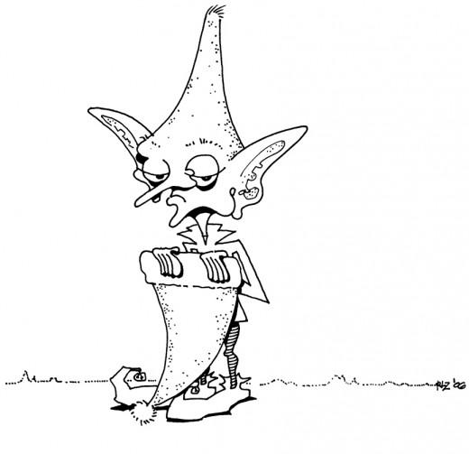 Downcast Elf