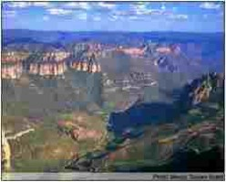 View of the Copper Canyon.