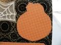 Jack O'Lantern background on card