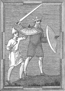 Saxon King and Armour bearer