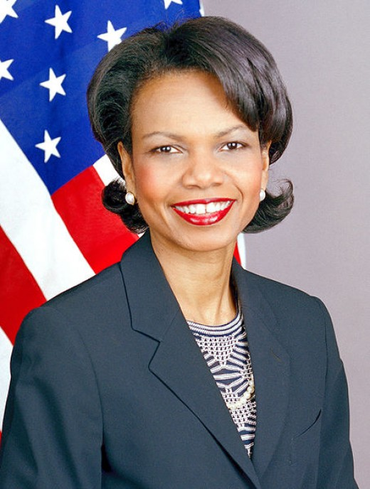 Condeleeza Rice, former US Secretary of State, and Gadhafi crush subject?