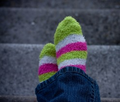 Fuzzy socks will be the death of me