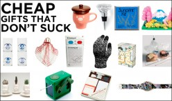 Holiday gift ideas that costs little