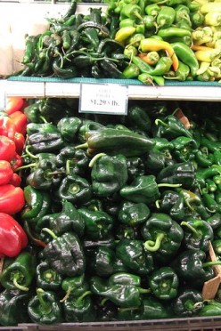 Healthy Poblano Pepper Recipes -- Low-Fat Stuffed Chiles
