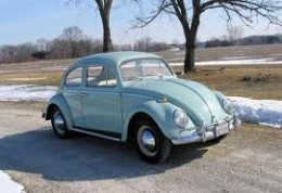 My 1965 VW was streets ahead of the 1958 version.  But there's always a soft spot for one's first car.
