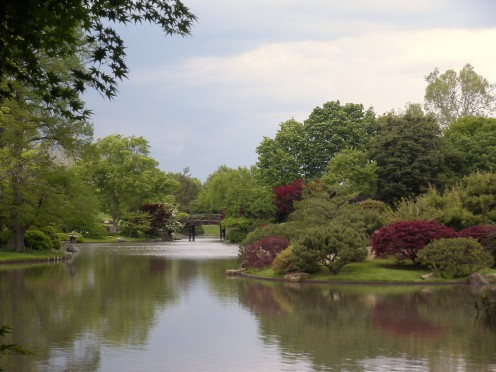 Photo 9 - There is something so special about this Japanese garden.  There is a bridge in the distance.