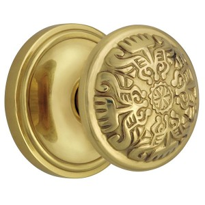 Older models of doorknobs may contain lead.