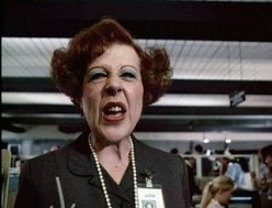 NOTICE THE SNEER ON THIS DMV EMPLOYEE'S FACE. NO, THIS ISN'T THE NORM FOR DMV EMPLOYEES, BUT SOME.