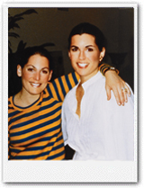 Susan G. Komen (left) and her sister Nancy G. Brinker (right)