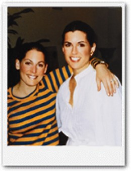 Susan G. Komen (left) and her sister Nancy G. Brinker (right)