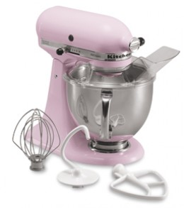 Or bake your own cookies with this awesome mixer from KitchenAid!